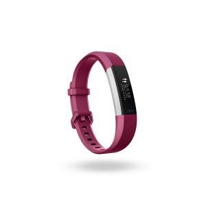 Fitbit(フィットビット) Alta HR フィットネストラッカー Fuchsia (S) |直輸入品|audio-mania