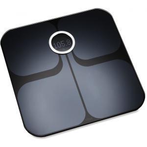 Fitbit(フィットビット) Aria Wi-Fi Smart Scale 多機能体重計 Black |直輸入品|audio-mania