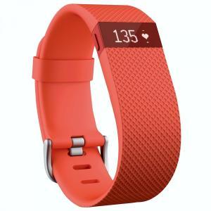 Fitbit(フィットビット) Charge HR 心拍数+アクティビティリストバンドTangerine (S) |直輸入品|audio-mania