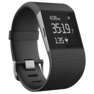 【工場再生品】Fitbit(フィットビット) Surge  フィットネス用スーパーウォッチ Black (S) |直輸入品|audio-mania