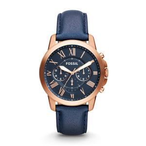 FOSSIL フォッシル Grant グラント FS4835 クロノグラフ 腕時計 直輸入品 新品 audio-mania