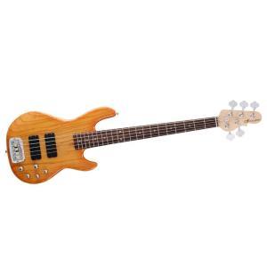 G&L Tribute M-2500 Honey Burst 5 Strings 5弦 ベース トリビュート M2500|直輸入品|audio-mania