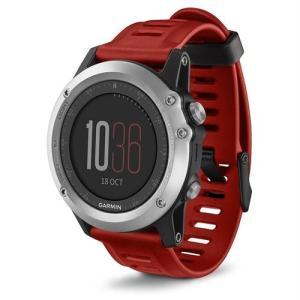 Garmin ガーミン GPS搭載 ABC 腕時計 Fenix 3 Red/Silver Training Watch 直輸入品 工場再生品 audio-mania
