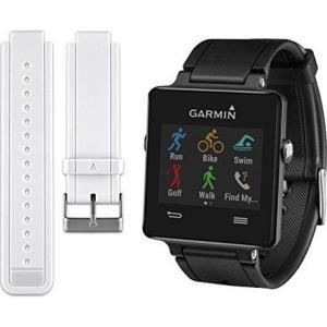 Garmin ガーミン vivoactive Black 心拍センサー付き GPS搭載 活動量計 ライフログウオッチ 010-01297-13 |直輸入品|audio-mania