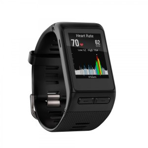 Garmin ガーミン vivoactive HR Black 心拍センサー付き GPS搭載 活動量計 ライフログウオッチ 010-01605-03 |直輸入品|audio-mania