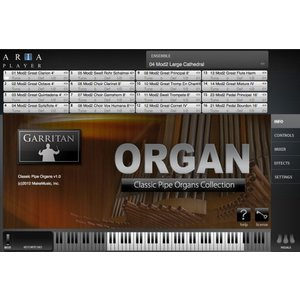 GARRITAN ガーリタン Classic Pipe Organ パイプオルガン音源 ダウンロード版 シリアル販売|直輸入品|audio-mania