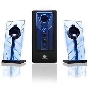 GOgroove ゴーグルーヴ BassPULSE Blue  2.1chデスクトップスピーカー 直輸入品 audio-mania