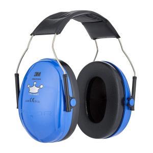 PELTOR ぺルター 3M イヤーマフ 子供用 防音 ヘッドホン Little Prince H510AK NEON BLUE ネオンブルー |直輸入品|audio-mania