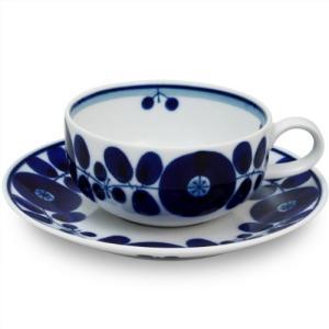 白山陶器 BLOOM ブルーム ティーカップ&ソーサー(φ9.8×5cm・230ml/ソーサーφ15.5cm)|audio-mania