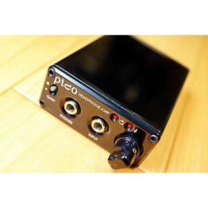 Headamp ヘッドアンプ ピコ Pico USB DAC/Amp ヘッドホンアンプ Black/ブラック|audio-mania