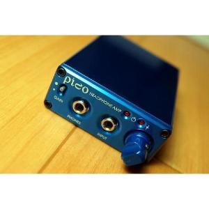 Headamp ヘッドホンアンプ Pico USB DAC Amp Blue ヘッドアンプ ピコ ブルー Head Amp|audio-mania