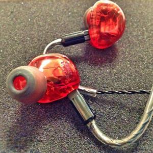 HEIR AUDIO エアオーディオ イヤホン 有線 高音質 10.Ai (Red) イヤフォン IEM イヤモニ イヤーモニター 10-Ai 10Ai|audio-mania