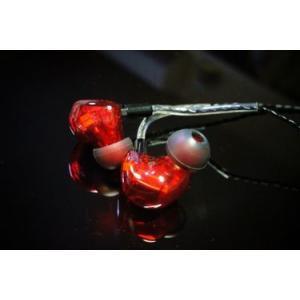 HEIR AUDIO エアオーディオ イヤホン 有線 高音質 8.Ai (Red) イヤフォン IEM イヤモニ イヤーモニター 8-Ai 8Ai|audio-mania