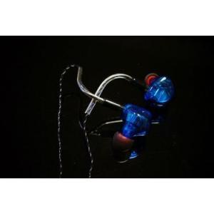 HEIR AUDIO エアオーディオ イヤホン 有線 高音質 8.Ai (Blue) イヤフォン IEM イヤモニ イヤーモニター 8-Ai 8Ai|audio-mania