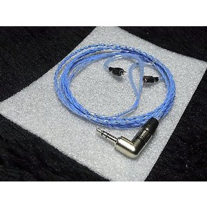 Sun Cable Baldur MK2 Sennheiser ゼンハイザー イヤホン IE8 IE80用 リケーブル 交換ケーブル|audio-mania