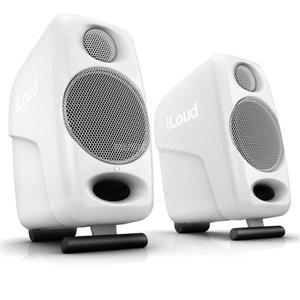 IK Multimedia iLoud Micro Monitor White Special Edition ワイヤレス スピーカー リファレンス・モニター Bluetooth 完全限定生産 │直輸入品|audio-mania