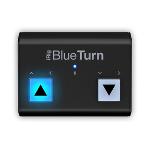 IK Multimedia iRig BlueTurn Bluetooth対応フット・ペダル|直輸入品|audio-mania