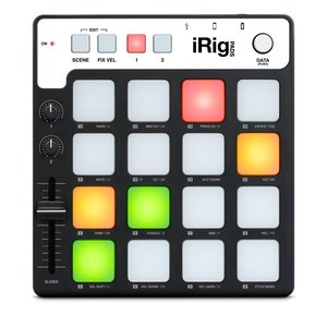 IK Multimedia iRig Pads  コンパクトMIDIグルーブ・コントローラー 直輸入品 audio-mania