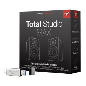 IK Multimedia Total Studio MAX AmpliTube MAX/T-RackS MAX/SampleTank MAX/ Miroslav Philharmonik 2 直輸入品 audio-mania