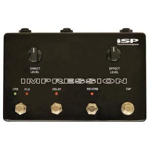 isp Technologies Impression インプレッション コーラス リバーブ ディレイ フランジャー 搭載 空間系 マルチ|audio-mania