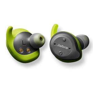 【工場再生品】Jabra ジャブラ Elite エリート Sport Green 4.5 グリーン ワイヤレススポーツイヤーバッド|直輸入品|audio-mania
