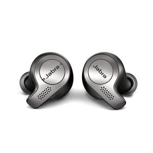 【工場再生品】Jabra ジャブラ Elite エリート65t  Titanium Black チタニウム ブラック ワイヤレスイヤーバッド|直輸入品|audio-mania