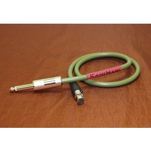 KAMINARI K-BWC60S 60cm TA4f/S エレクトリックベース専用ワイヤレス用ケーブル|audio-mania