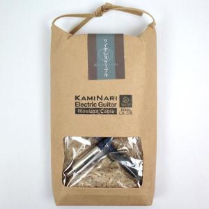 KAMINARI K-GWC60S 60cm TA4f/S エレクトリックギター専用ワイヤレス用ケーブル|audio-mania