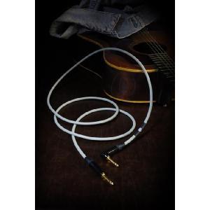 Kaminari アコースティック ギター ケーブル 7m/LS Acoustic Cable (K-AC7LS) 神鳴 カミナリ エレクトリック|audio-mania