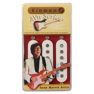 Kinman キンマン Hank's 60's Shadows sound Set  ノイズレス シングルコイル ストラト ストラトキャスター用 ギター ピックアップ Impersonator 54|audio-mania
