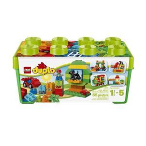 LEGO レゴ Duplo デュプロ Gro〓e Steinbox デュプロ みどりのコンテナデラックス 10572|直輸入品|audio-mania