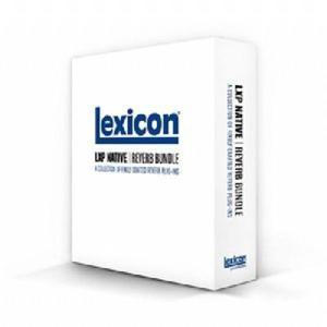 Lexicon レキシコン LXP NATIVE REVERB BUNDLE ダウンロード版 シリアル販売 直輸入品 audio-mania