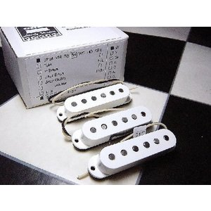 Lindy Fralin リンディフレーリン ピックアップ Strat Real 54's Staggard Set White リアル 54 audio-mania