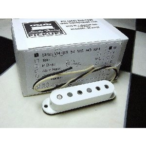 Lindy Fralin リンディフレーリン ピックアップ Strat Vintage Hot Staggard Bridge White audio-mania
