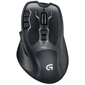 Logitech ロジテック G700s ブラック 充電式 ゲーミングマウス G-700s マウス|直輸入品|新品