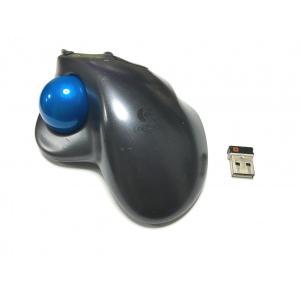 【工場再生品】Logitech M570 ワイヤレス トラックボール ロジテック マウス|直輸入品|audio-mania