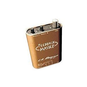 ダイレクトボックス LR BAGGS Feedback Master アコギ用DI/プリアンプ/エフェクター 直輸入品 エルアールバッグス audio-mania