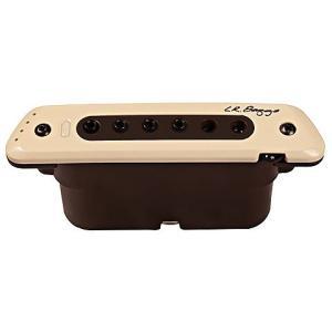 新開発の3Dセンサーを搭載。マグネティックピックアップとは思えないほどにボディのアコースティックな鳴...