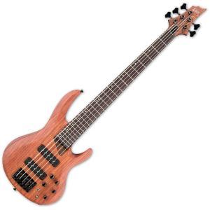 LTD エレキベース 5弦 B-1005SE BNS Bubinga Natural Satin B1005SE |直輸入品|audio-mania
