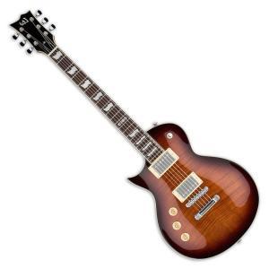LTD EC-256 Dark Brown Sunburst DBSB LH レスポール タイプ エレキギター EC256 左利き用|直輸入品|audio-mania