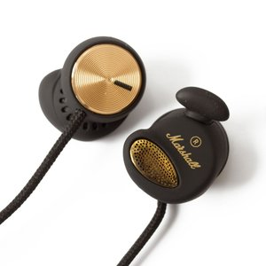 Marshall マーシャル イヤホン 有線 高音質 MINOR マイナー Black ブラック|直輸入品|audio-mania