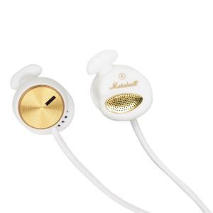 Marshall マーシャル イヤホン 有線 高音質 MINOR マイナー White ホワイト|直輸入品|audio-mania
