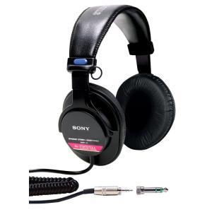 SONY ソニー ヘッドホン ヘッドフォン 有線 高音質 MDR-V6 モニタリング|直輸入品の画像