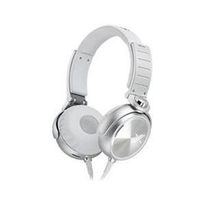 SONY ソニー ヘッドホン ヘッドフォン 有線 高音質 マイク MDR-X05 Silver  MDRX5 おしゃれ 直輸入品 audio-mania