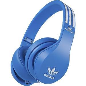 Monster モンスター ヘッドホン 有線 高音質 マイク付き adidas アディダス  Blue Headphones |直輸入品|audio-mania