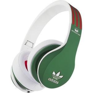 Monster モンスター ヘッドホン 有線 高音質 マイク付き adidas アディダス Green Headphones おしゃれ|直輸入品|audio-mania