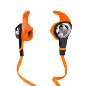 Monster モンスター イヤホン 有線 高音質 マイク  iSport Strive Orange オレンジ PARTIAL スポーツ  MH ISRT STV IE OR CA WW│直輸入品|audio-mania