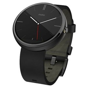 スマートウォッチ モトローラ Moto 360 Smart Watch Stone Leather Android Wear SmartWatch