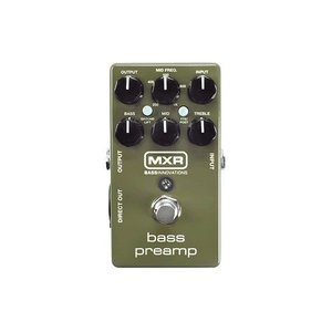 MXR エフェクター Bass Preamp M-81 ベース プリアンプ M81 DI オーバードライブ|直輸入品|audio-mania