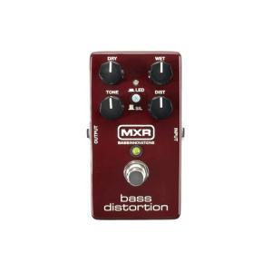 MXR エフェクター Bass Distortion M-85 M85 ベース用ディストーション|直輸入品|audio-mania